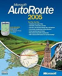 Microsoft Autoroute 2005