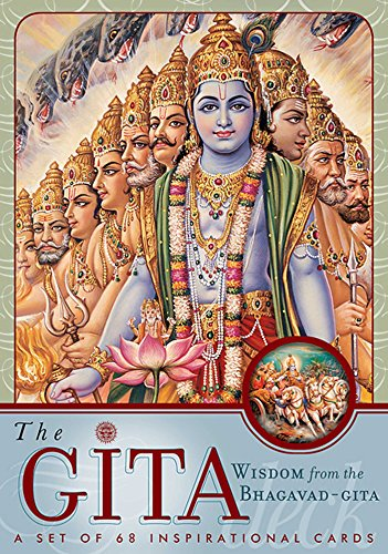 The Gita Deck: Wisdom From the Bhagavad Gita por Editors of Mandala Publishing