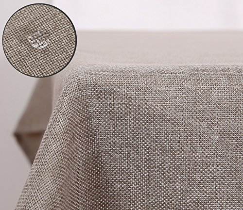 Deconovo Faux Linen Rectangle Wa...