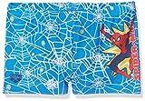 Arena2507201, Costume da Bagno Bimbo, Blu (Spider Man Marvel), 104 (Taglia produttore:4)