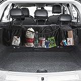 Coche asiento trasero Tronco organizador 5bolsillo Auto Hanging bolsa multifunción carga organizador Asiento Trasero de diverso