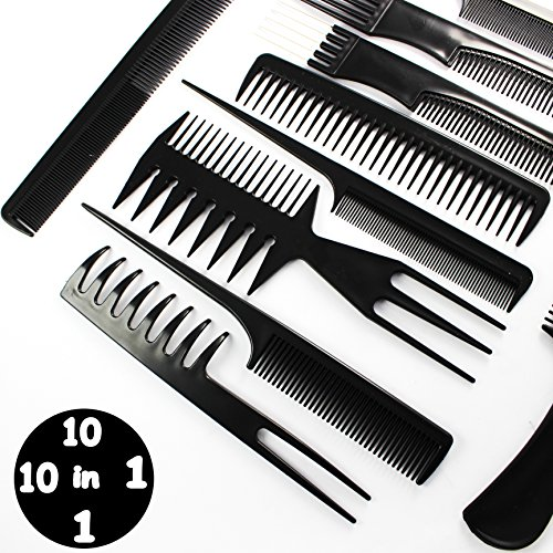 hairdressing-stylists-barbers-combs-10-piece-set-with-free-shipping-