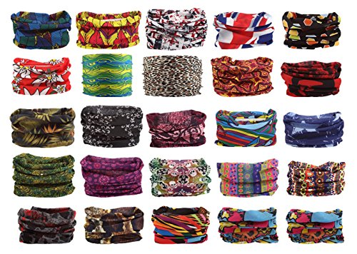 Foulard bandana schlauchtuch multischal foulard multifonction dans un large choix Violet - Design 20