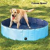 Forever Speed Doggy Pool Hunde POOL Hundepool 160x30cm Blau