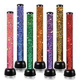 Playlearn - Lámpara LED (105cm), diseño de tubo con peces, color negro