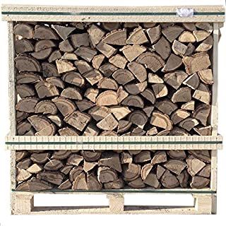 Kiln Dried Logs HARD WOOD LOGS Fire Wood 1.2m Crate 50/50 Mix of Oak and Birch
