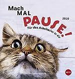 Mach mal Pause Postkartenkalender - Kalender 2019: Für das Tier in dir