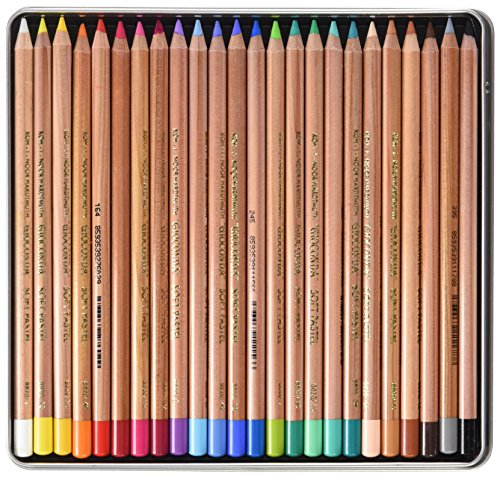 KOH-I-NOOR Artist's Soft Pastel Pencils (Set of 24)