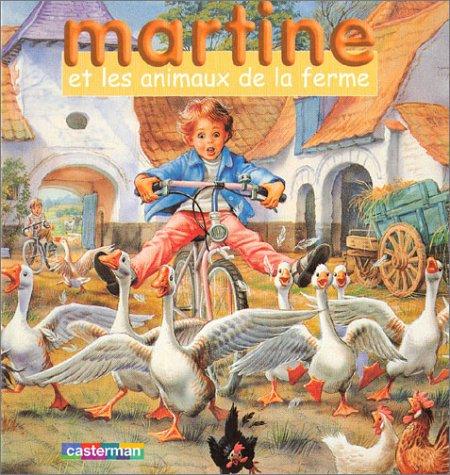 Martine et les Animaux de la ferme (coffret livre + jeu de cubes)