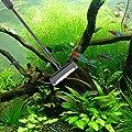 Hygger Aquarien Reinigungsset, 6 in 1 mit Kescher, Algenschaber, Glasschwamm, Kiesbesen, Röhrenbürste, Aquariumnetz-Reinigungswerkzeug, Multifunktionswerkzeug fürs Aquarium