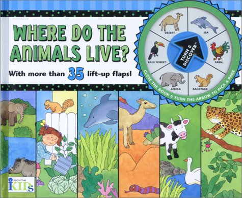 Turn Discover Where Do The Animals Live