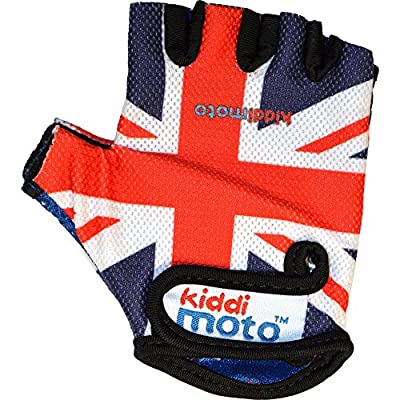 Kiddimoto Gloves Medium Union Jack from Kiddmoto