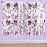 Disney 54-inch Doc McStuffin Hugs Curtains, Multi-Colour