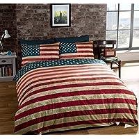 Piumone Singolo Bandiera Inglese.Bandiera Americana Biancheria Da Letto Tessili Per La Amazon It