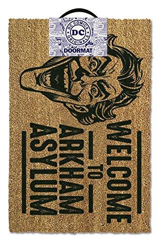 Batman Door Mat Welcome To Arkham Asylum