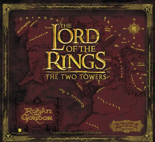 Click for larger image of The Lord of the Rings 2011 Calendar: The Two Towers