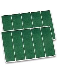 Pansement billardtuch-vert (10 pièces)