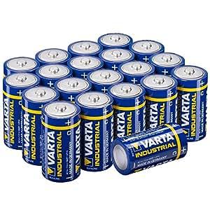 Varta LR14 Typ C Baby Alkaline Batterien (20 Stück)