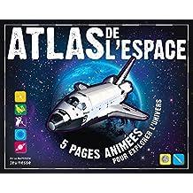 Atlas de l'espace - 5 pages animées pour explorer l'univers