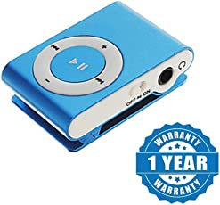 captcha MP3 Player with SD Card Slot Metal Body Suitable with All Android, iPhone Devices (Colour May Vary)