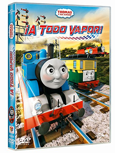 Thomas And Friends 4: A Todo Vapor [DVD] 616GnhGQnqL