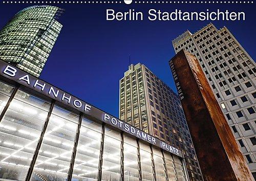 Berliner Stadtansichten (Wandkalender 2017 DIN A2 quer): Aufnahmen von Berlin, die unsere Hauptstadt in seiner ganzen Farbenpracht präsentieren. (Monatskalender, 14 Seiten ) (CALVENDO Orte)