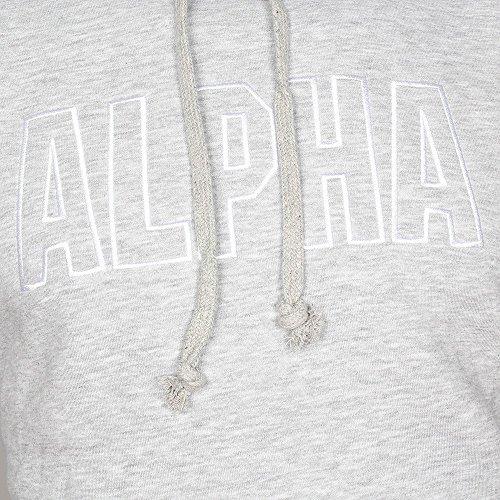Alpha Industries Track Hoody Sweats à capuche Blac Grey