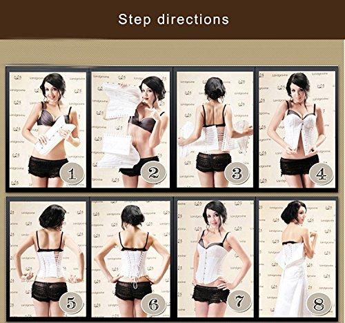 Missyhot Frauen Elastischer Tailler Trainer Hüfthalter Shapewear Faser Beigefarben Schwarz Beigefarben