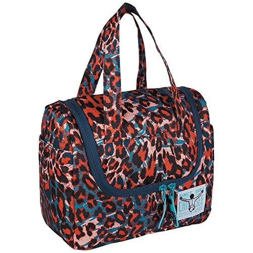 Chiemsee Kulturtasche Shower Bag 25x20x12cm TOILETERY Mega Flow Blue 1011 Bowatex
