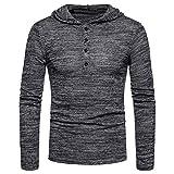 66d43e7ff238 ZIYOU Herren Kapuzenjacke, Männer Hoodie Pullover Herren Kapuzen Sweatshirt  Outwear Long Sleeve Sweater Bluse (