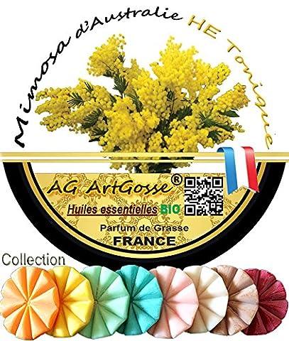 MIMOSA - AG ArtGosse® - Tartelette fondante en Cire Naturelle