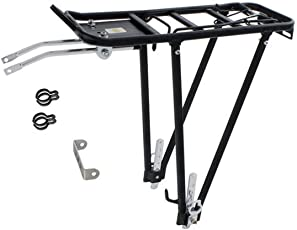 """Fahrrad Universal ALU-Gepäckträger für 24""""-28"""" schwarz bis 25 kg"""
