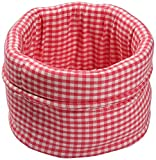 Best Price Cotton Bread Basket, Pink