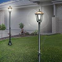 E27 Aluguß Gartenlampe Mauerlaterne Außenleuchte Gartenleuchte Wegleuchte 60W