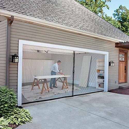 2-car-garage Bildschirm Kit (16'W x 7' Hoch) -