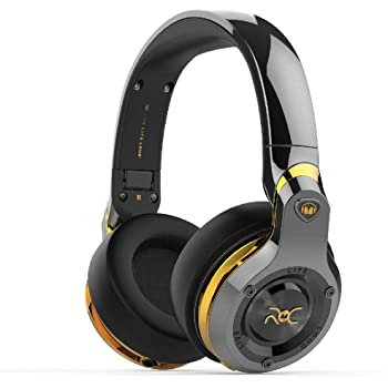 Monster ROC Sport Platinum Over-Ear Headphone - Black