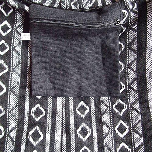 gah-gah , Damen Schultertasche Schwarz / Weiß