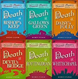 Robin Paige 6 Book set - Victorian Mystery Series Books 1-6 - Death at Bishop's Keep, Death at Gallows Green, Death at Daisy's Folly, Death at Devil's Bridge, Death in Rottingdean & Death at Whitechapel
