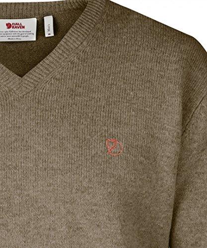 Fjällräven Herren Shepparton Strickpullover red oak 345