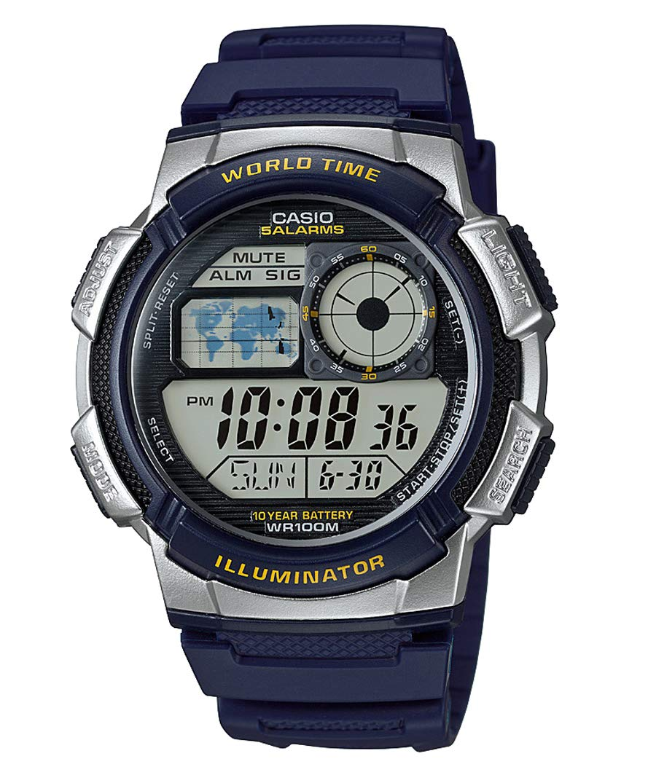 Casio EDIFICE Reloj en caja sólida, 10 BAR, para Hombre