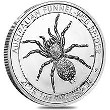 Moneda de plata, diseño Australian Funnel-Web Spider, 28,35 g
