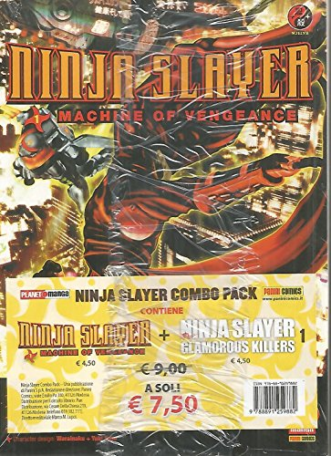 Ninja Slayer Combo Pack - Machine of Vengeance 1 + Glamourous Killers 1 - Panini
