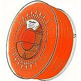 Minadax® 1kg Calidad Premium de 1,75mm ABS Filamento Naranja FLOURESZIEREND para impresora 3d fabricado en Europa