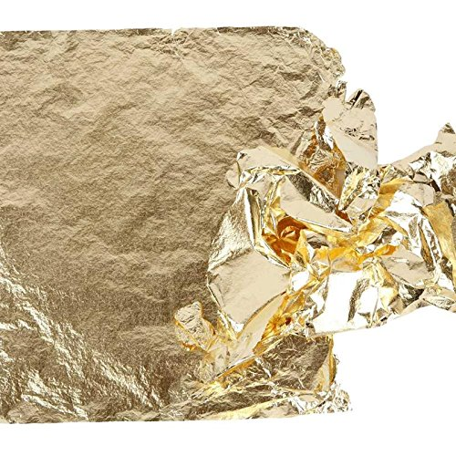 creativ-16-x-16-cm-imitation-metal-leaf-25-sheet-gold