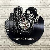 Jocker Batman Vinyl Wanduhr dekorative Geschenk