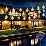 Guirlande Solaire Exterieure, BrizLabs 6.5M 30 LED Guirlandes Lumineuses...