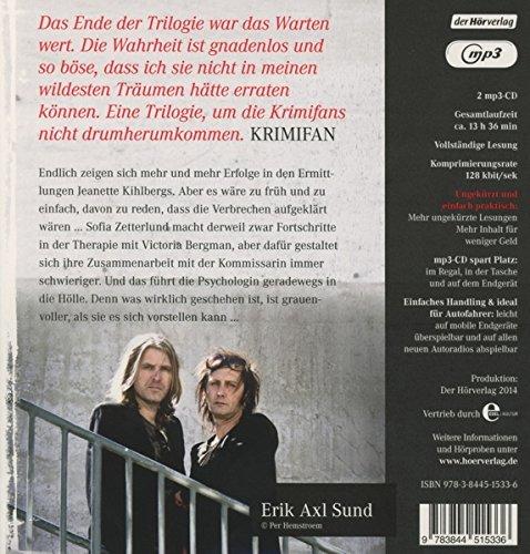 """Schattenschrei: Band 3 der """"Victoria-Bergman-Trilogie - Psychothriller (Sund: Victoria-Bergman-Trilogie, Band 3): Alle Infos bei Amazon"""