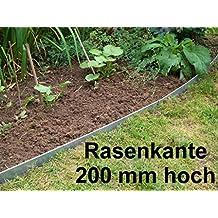 6er Set Bodenanker f/ür schmale Rasenkanten aus Edelstahl V2A