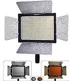 YONGNUO yn 600 luce di pannello video 5500k temperatura di colore con telecomando per dv reflex immagine