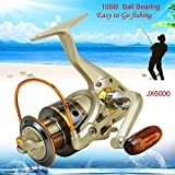 #3: XY ZONE 10 BB Left/Right Interchangeable Collapsible Handle Fishing Reel JX6000
